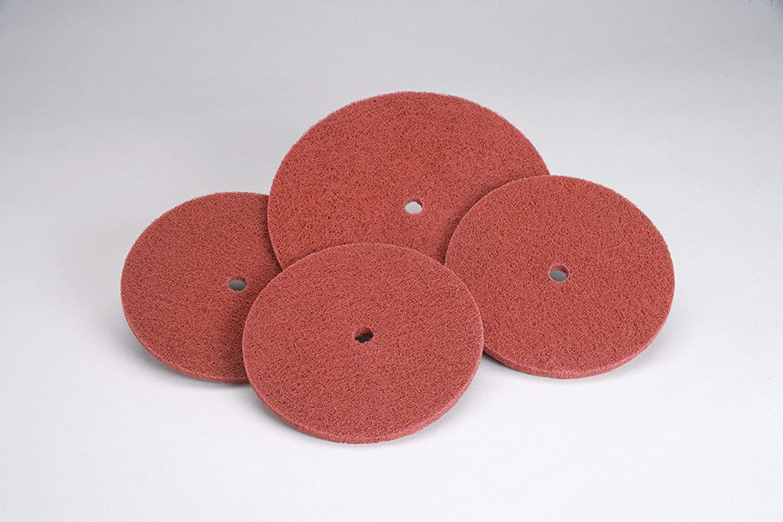 Standard Abrasives Quick Change TSM Buff and Blend HP Disc 850415 3 in A VFN