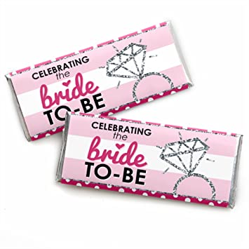 bride to be candy bar wrappers bridal shower classy bachelorette party favors