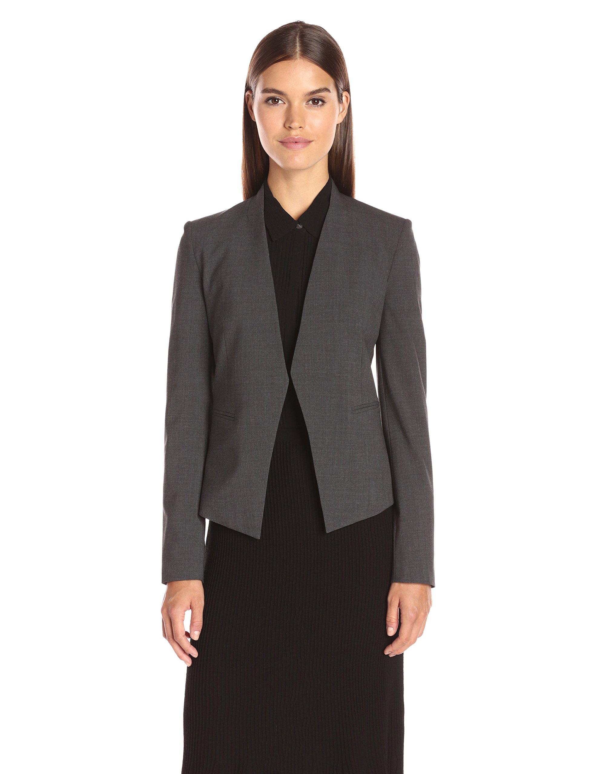 Theory Women's Lanai Edition 4 Jacket, Charcoal, 6
