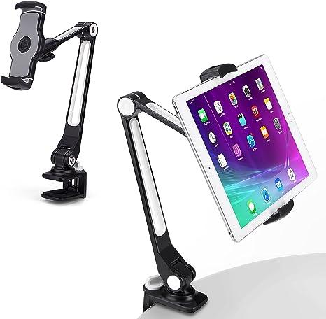 AboveTEK Sy iPad Holder, Aluminum Long Arm iPad Tablet Mount, 360° on kitchen tablet mount, kitchen tablet stand, kitchen laptop holder, kitchen tablet case, kitchen tablet recipe,