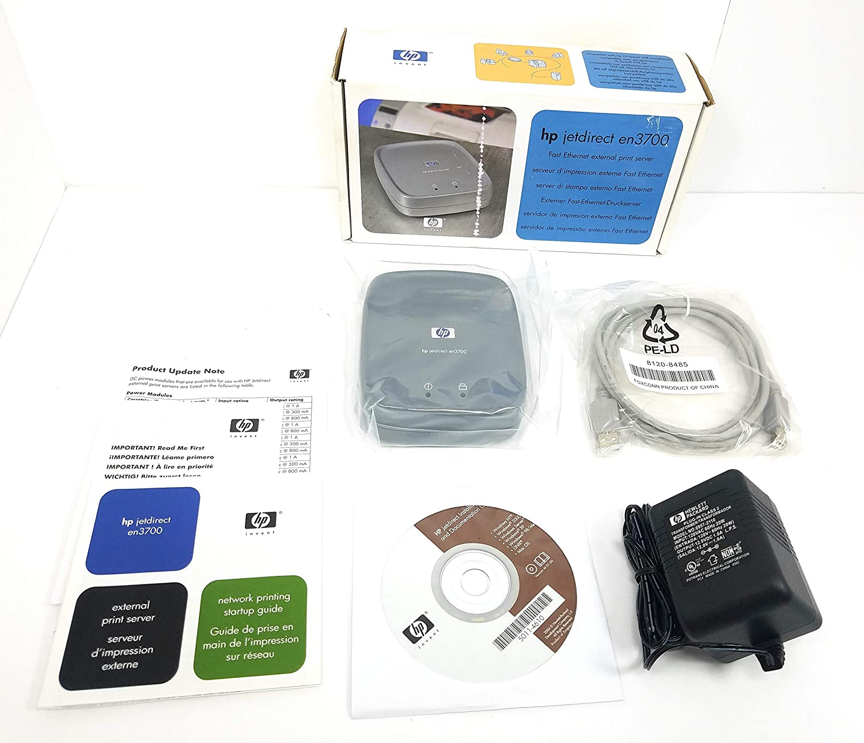 HP J7942A Jetdirect en3700 Fast Ethernet Print Server (USB 2.0)