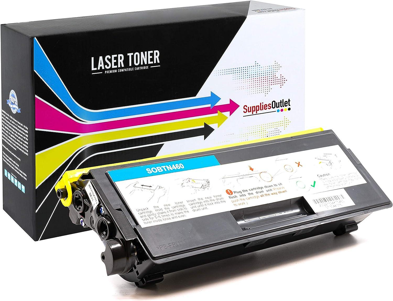 8 PK TN430 TN460 Toner Cartridge For Brother TN-460 Intellifax 4750e 4750p 5750