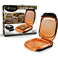 Gotham Steel Low Fat Multipurpose Sandwich Grill with Nonstick Copper Coating – As Seen on TV