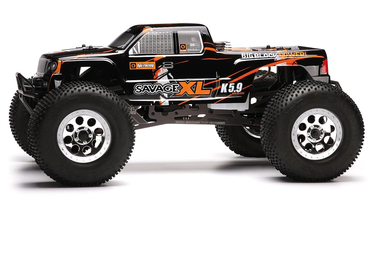 New! 113003 HPi Nitro Gt-4 Truck Painted Body (Black