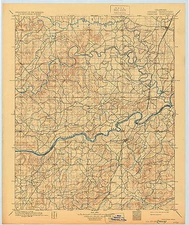 Amazon.com : YellowMaps Canadian OK topo map, 1:125000 Scale ...