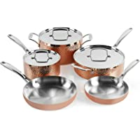Cuisinart HCTP-8W 8-Piece Hammered Copper Set