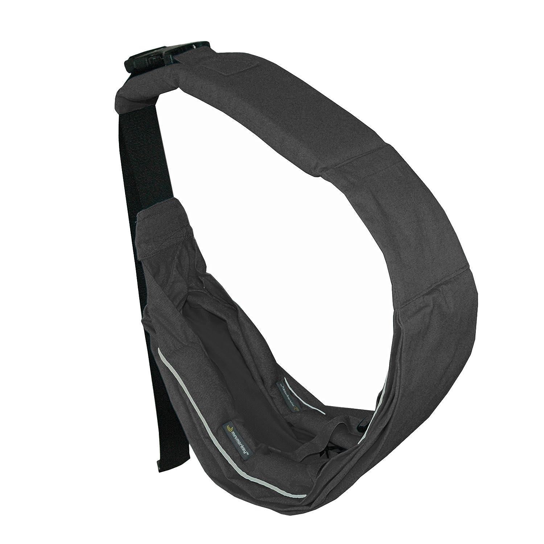Sling Unlimited –  100% Katoen –  olifantgrijs Minimonkey MSU001