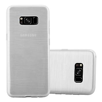 Cadorabo Funda para Samsung Galaxy S8 en Plata: Amazon.es: Electrónica