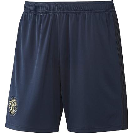 b0d743d19 Amazon.com : adidas 2018-2019 Man Utd Third Shorts (Navy) : Clothing