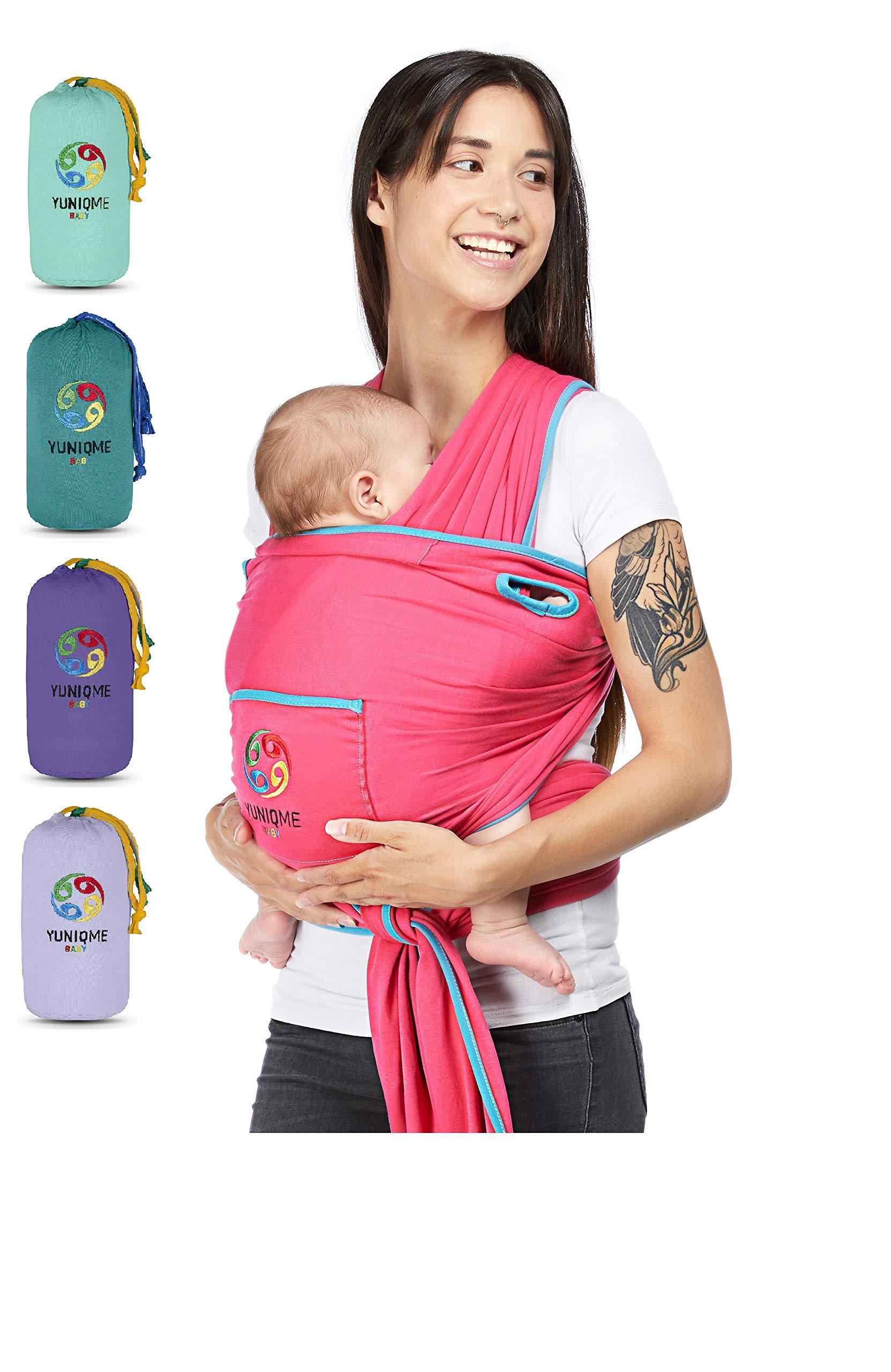 Tragetuch Babytragetuch Bauchtrage für Neugeborene und Kleinkinder bis DE Stock