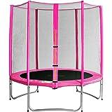 SixBros. Sixjump 1,85 - 4,60 M Trampoline de jardin - Filet de sécurité