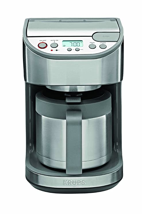Amazon.com: Krups kt4065thermal Cafetera programable, 10-cup ...