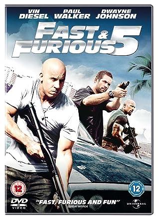 Amazon.com: Fast & Furious 5 (2011) Dwayne Johnson; Vin ...
