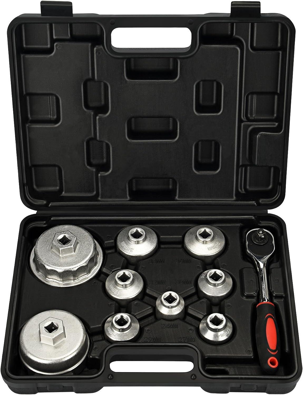 """Draper Expert 6 Piece 1//2/"""" Sq Dr Oil Filter Cap Socket Set OFCW-SET 22491"""