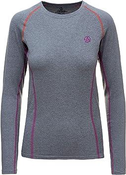 Ternua ® Camiseta Alma LS W - Camiseta para Mujer Mujer: Amazon.es: Ropa y accesorios