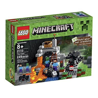 LEGO Minecraft The Cave 21113: Toys & Games