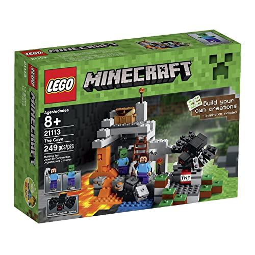 LEGO 21113 Minecraft The Cave Playset