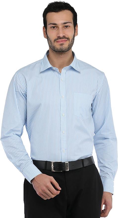Exotic India Casual Camisa de rayas para hombre: Amazon.es: Ropa