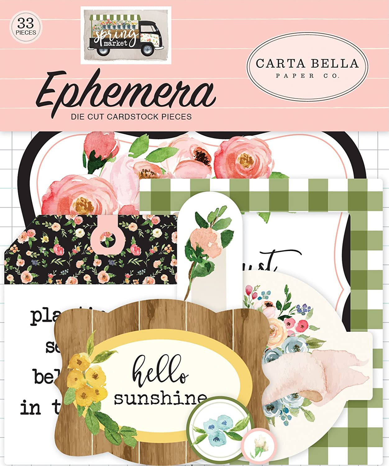 Carta Bella Paper Company Our Our Family Ephemera