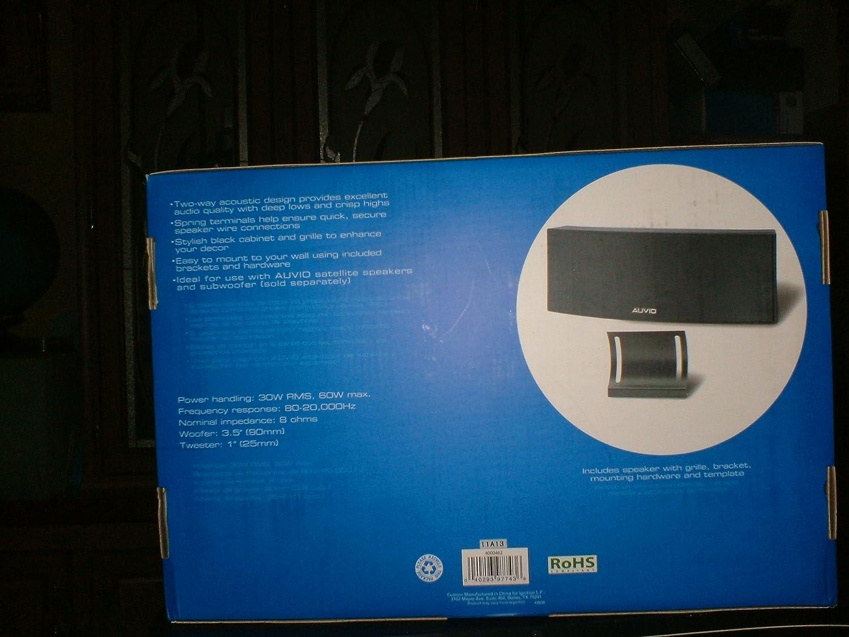 Amazon.com: AUVIO 2-Way Center-Channel Speaker: Home Audio & Theater