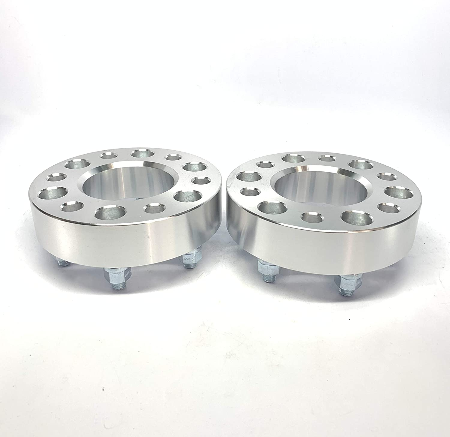 Customadeonly 2 Pieces 1.5 38mm Hub Centric Wheel Spacers with Lip Bolt Pattern 6x5 6x127 Fits Chevy Envoy Trailblazer SSR