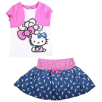 Hello Kitty Little Girls 2-piece skort Set