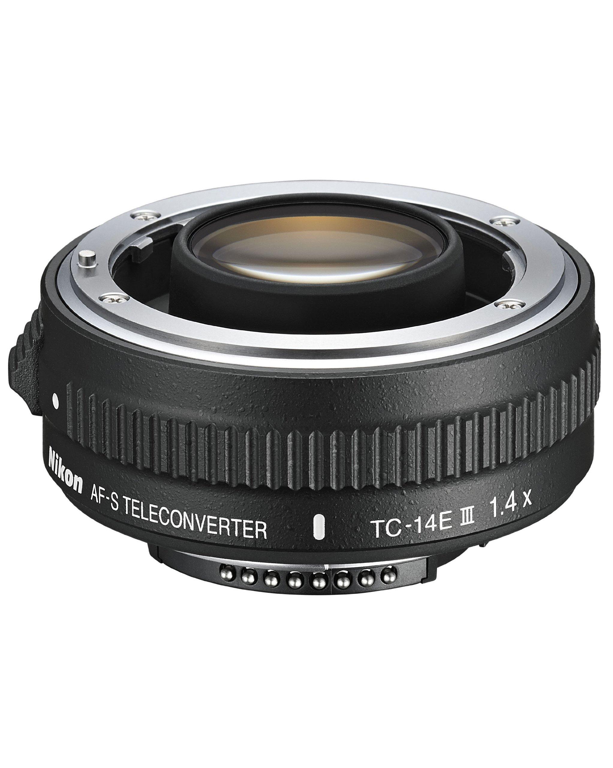 Nikon AF-S FX TC-14E III (1.4x) Teleconverter Lens with Auto Focus for Nikon DSLR Cameras by Nikon