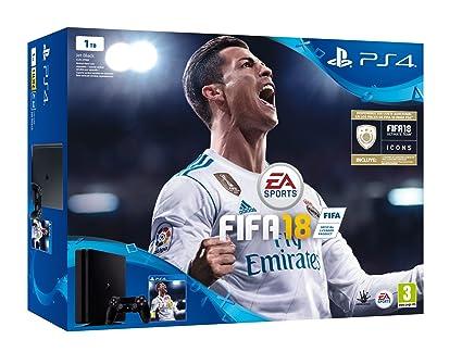 Sony, PlayStation 4 (PS4) - Consola de 1 TB + FIFA 18 ...