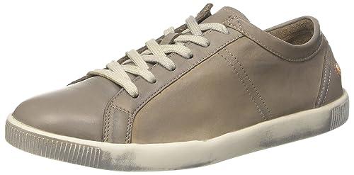 Softinos Tom Washed, Sneaker Uomo, Braun (Brown 535), 39 EU