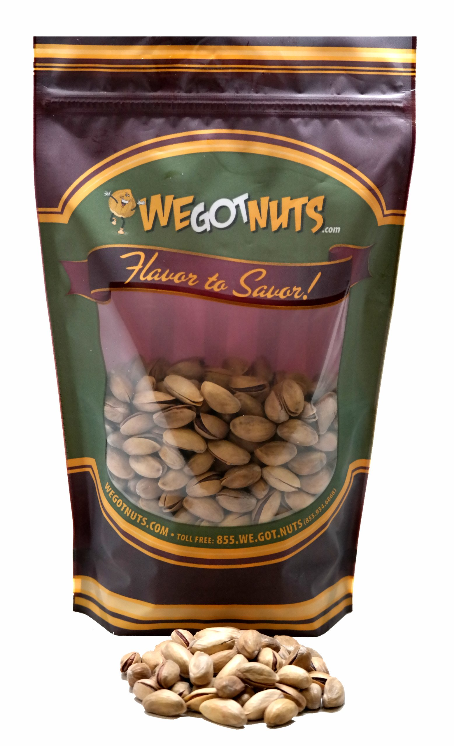 Turkish Pistachios Antep Roasted Salted , In Shell - We Got Nuts (10 LBS.) by We Got Nuts