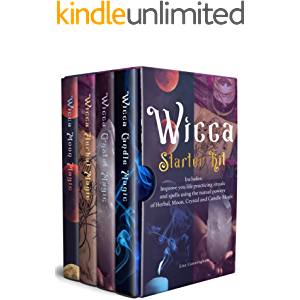 WICCA: Starter Kit: Improve your life practicing rituals and spells using the natural powers of Herbal, Moon, Crystal…