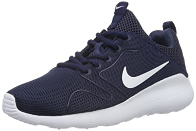 brand new 2d860 1c363 Nike Women's Kaishi 2.0 Fitness Shoes, Blue (Midnight Navy/White), 36