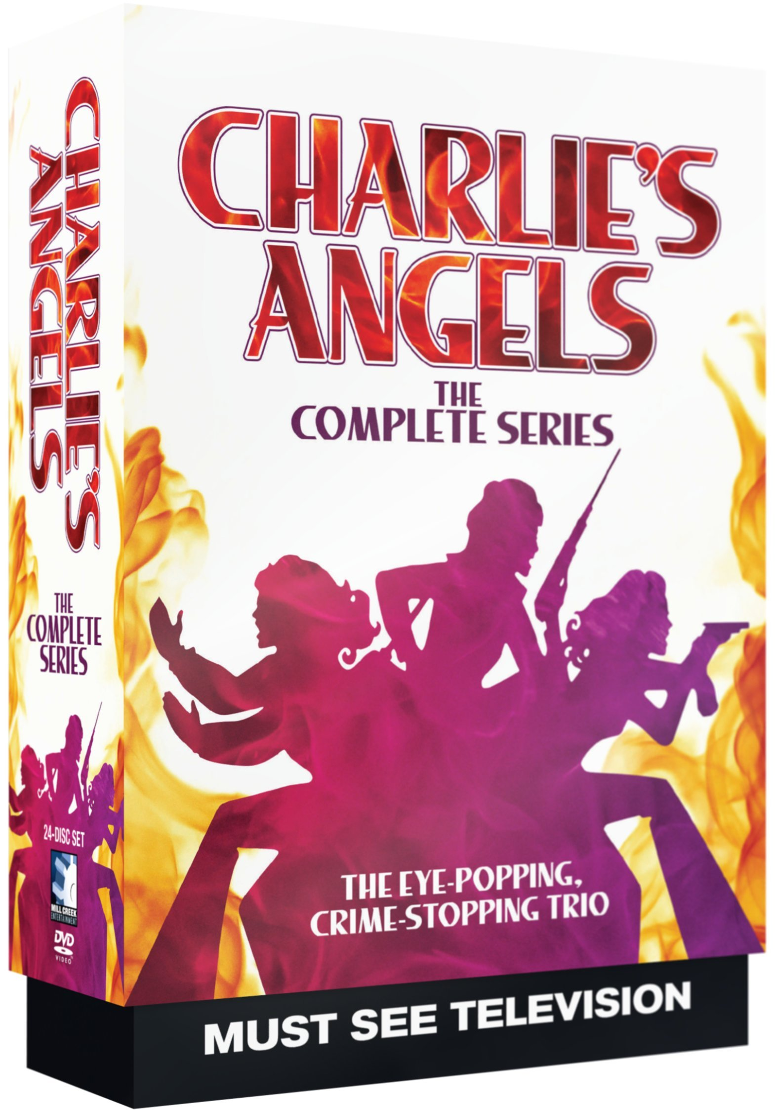 DVD : Charlie's Angels: The Complete Series (20 Disc)