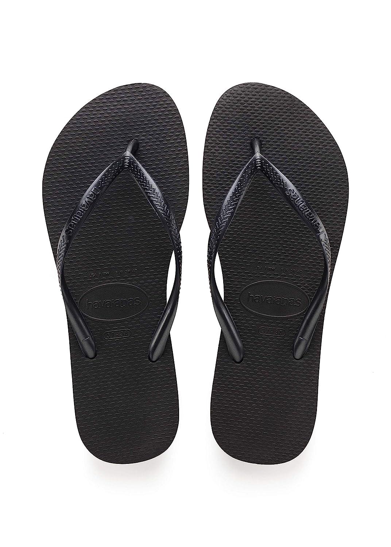 91024f7fc49c7d Havaianas Women s Slim White Flip Flops  Amazon.co.uk  Shoes   Bags