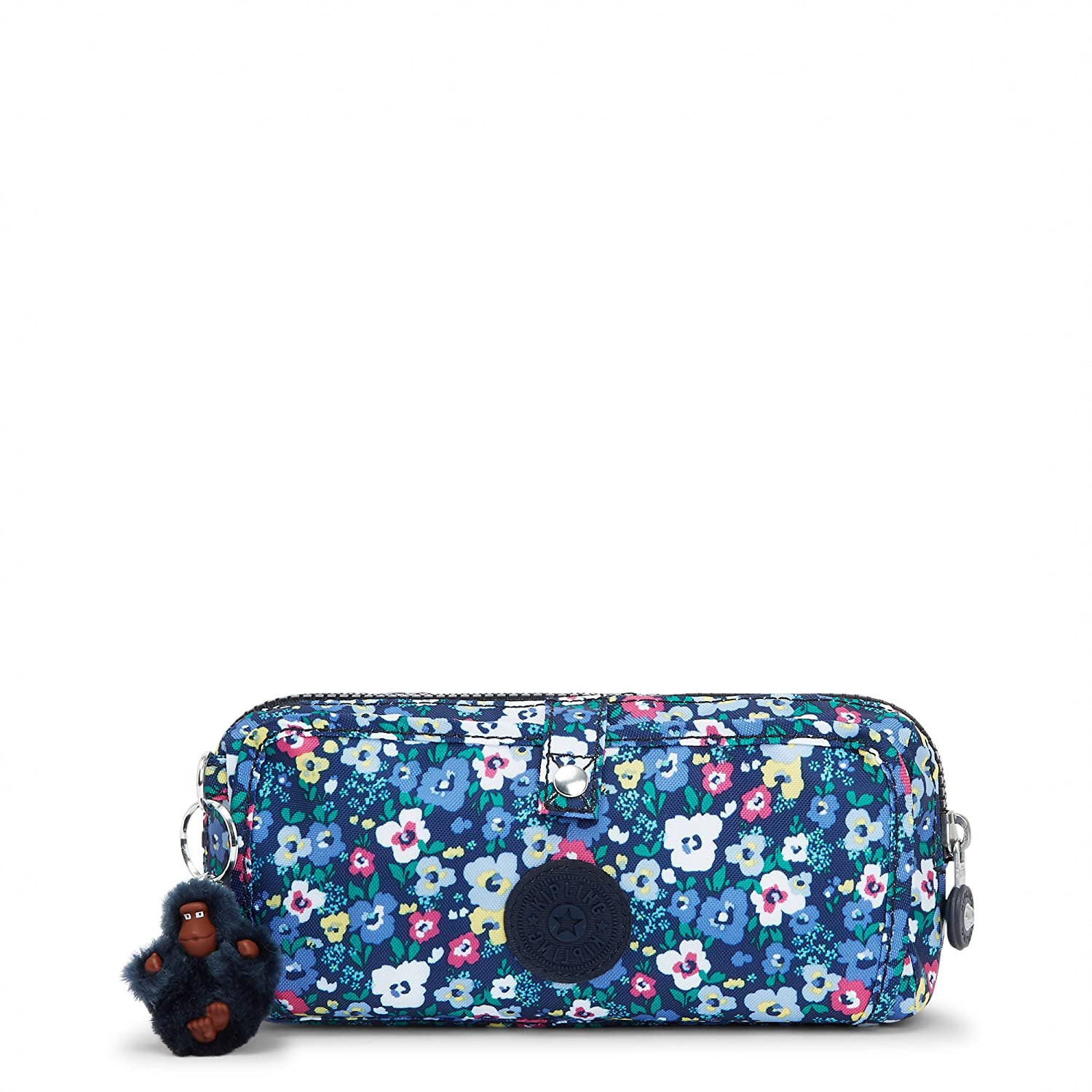 Kipling Wolfe Printed Pencil Pouch One Size Bustling Petals