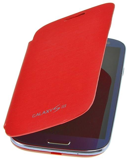 21 opinioni per PhoneStar Flip Cover copertina caso per Samsung Galaxy S3 i9300 in rosso