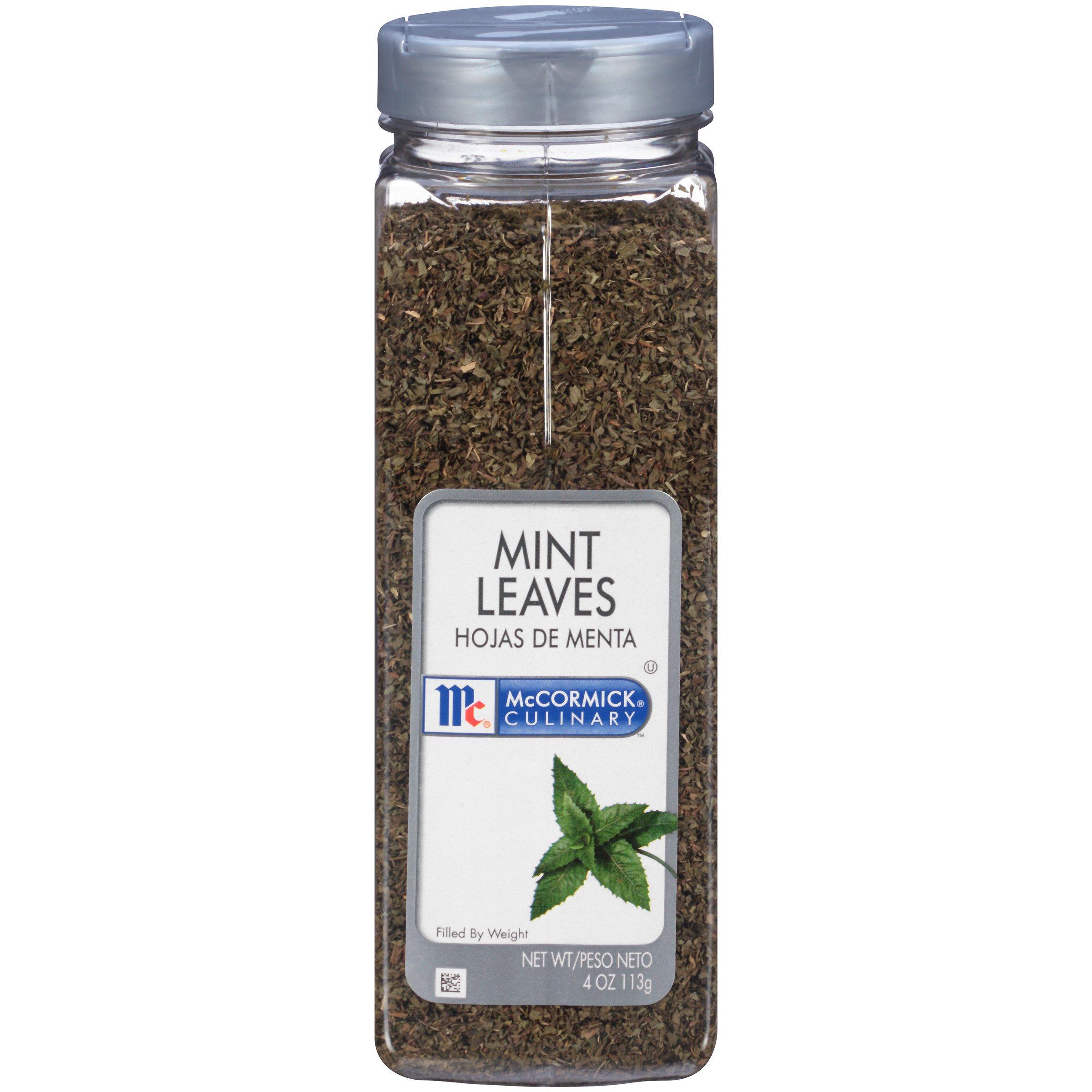 McCormick Culinary Mint Leaves, 4 oz.