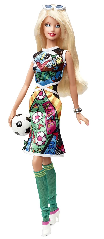 Barbie Collector Romero Britto Doll Mattel BCP98
