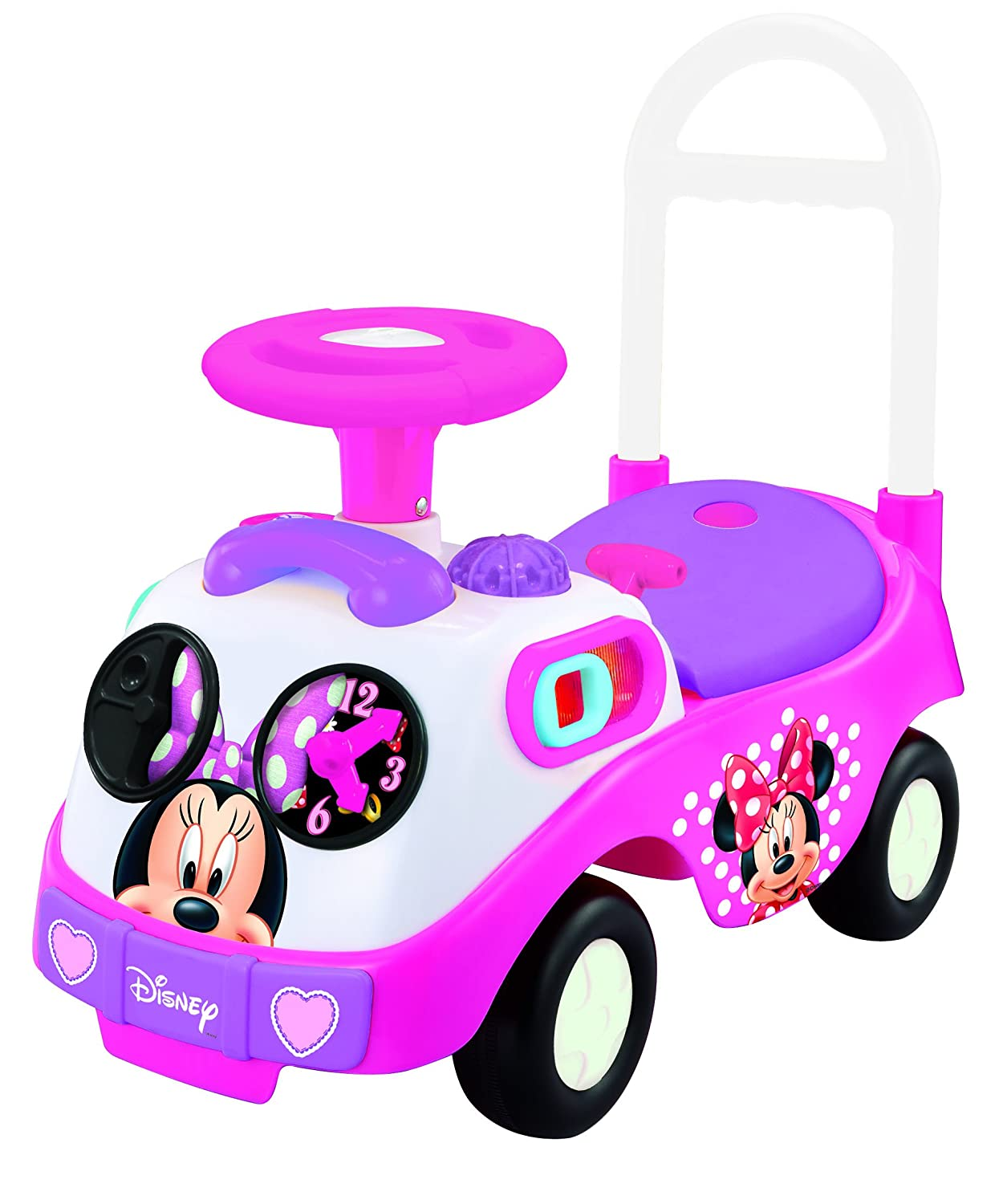 Minnie Mouse Toys For Toddlers : My first minnie mouse ride on kiddieland car driving pink