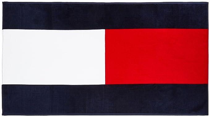 Tommy Hilfiger Flag Towel, Toalla para Hombre, Navy Blazer-PT/Multi OS: Amazon.es: Ropa y accesorios