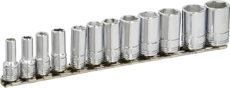 12-Piece SK Hand Tool 41692 1//4-Inch Drive Semi-Deep SET Socket