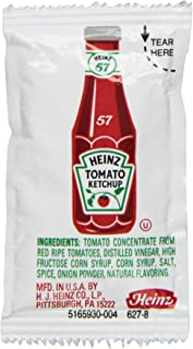 product image for Heinz Tomato Ketchup, 750ct - 7g Packets