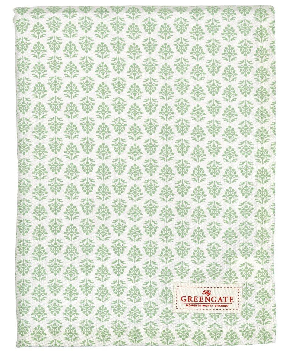 Grüngate COTTAB250ASH3502 Ashley Tischdecke grün 145 x 250 cm