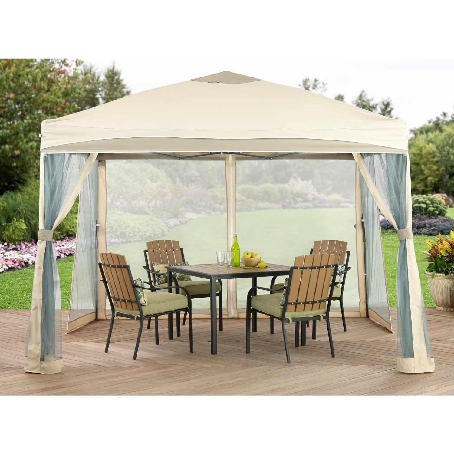amazon com better homes and gardens lawrence portable patio