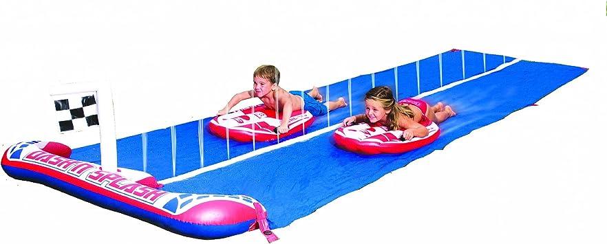 Bestway - Tobogán de Agua para jardín: Bestway 16 ft Rally Pro Water Slide: Amazon.es: Juguetes y juegos