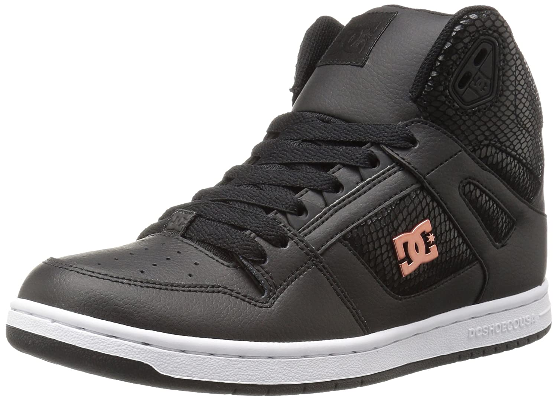 DC Women's Rebound High Tx Se Skate w Skateboarding Shoe B01D2B6IK4 11 B(M) US|Black/Black