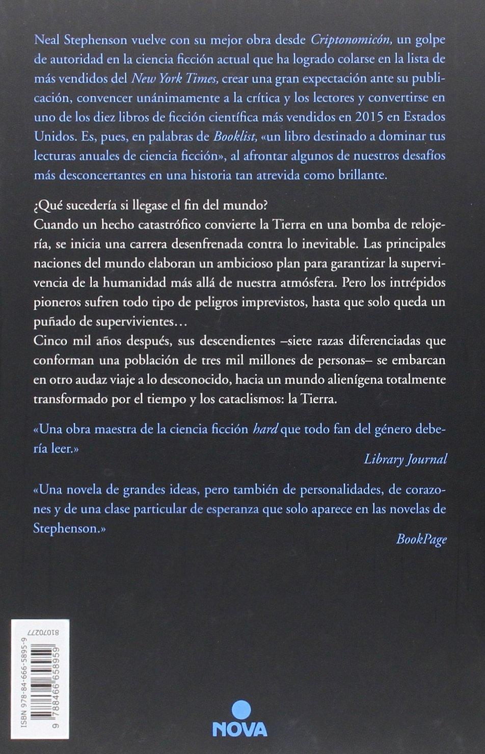 Seveneves (spanish Edition): Neal Stephenson: 9788466658959: Amazon:  Books