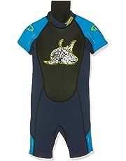 TWF XT3 - Muta subacquea corta da bambino, Blu (blu), 5-6 Years