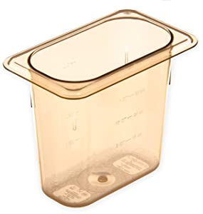 Carlisle 3088803 3088813 StorPlus High Heat Food Pan, 6