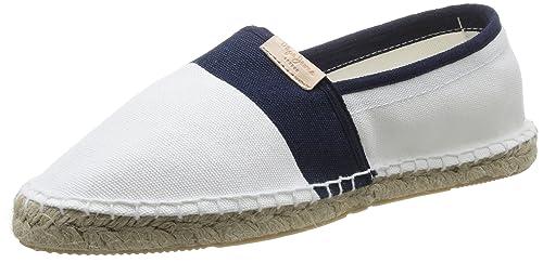 Pepe Jeans London STIPA Basic, Alpargatas para Hombre, Blanco-Weiß (800WHITE), 45 EU: Amazon.es: Zapatos y complementos